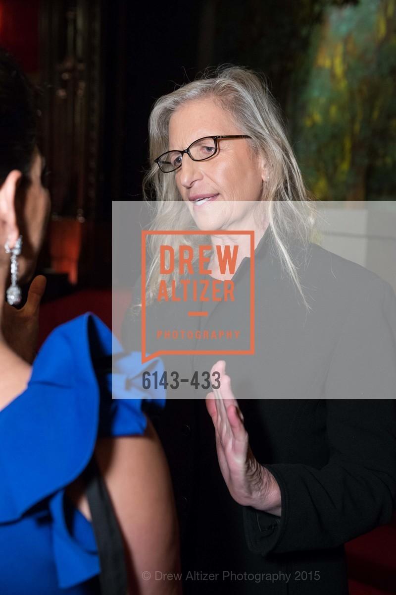 Annie Leibovitz, SFMOMA Contemporary Vision Award, Regency Ballroom. 1300 Van Ness, November 3rd, 2015