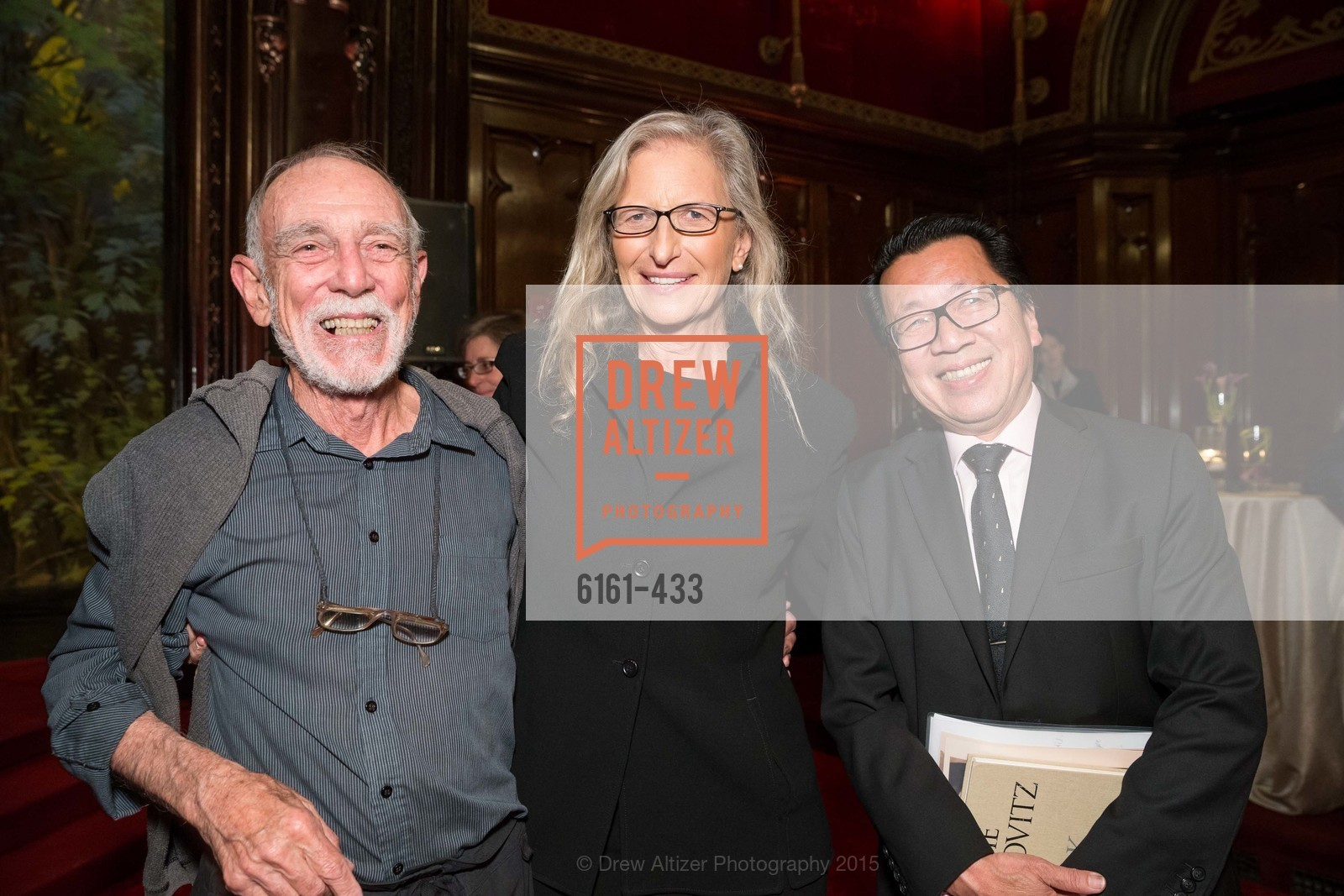 Robert Kingsbury, Annie Leibovitz, Ben Fong-Torres, SFMOMA Contemporary Vision Award, Regency Ballroom. 1300 Van Ness, November 3rd, 2015,Drew Altizer, Drew Altizer Photography, full-service event agency, private events, San Francisco photographer, photographer California