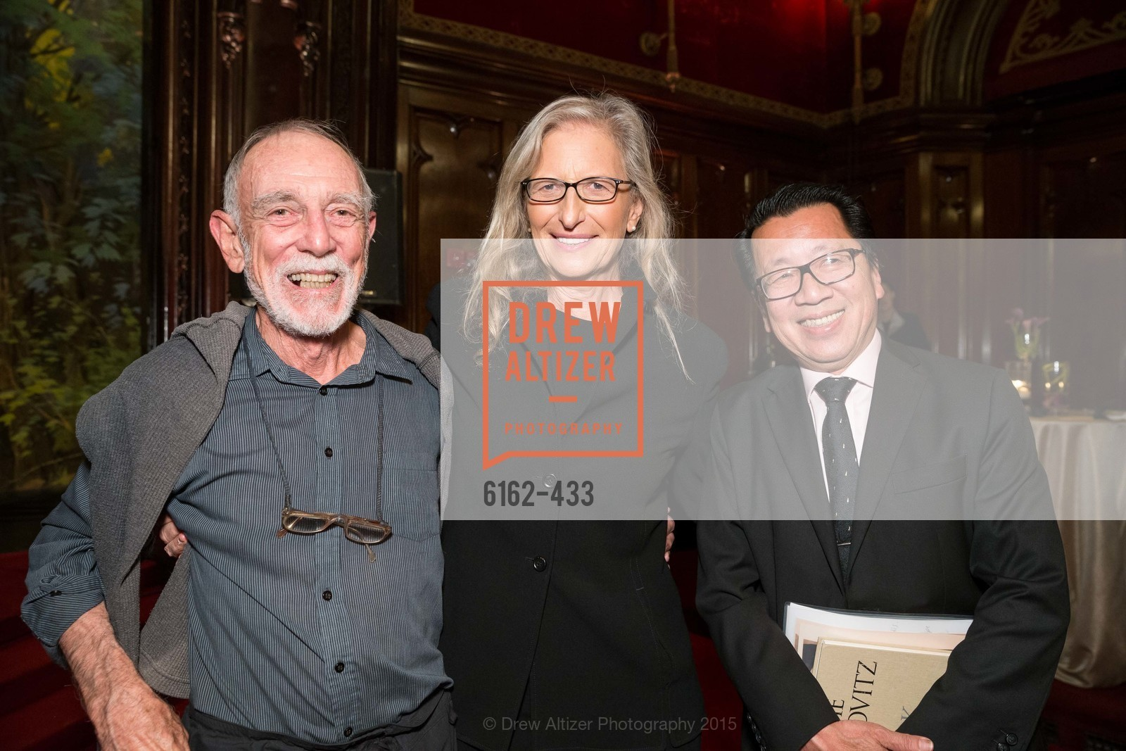Robert Kingsbury, Annie Leibovitz, Ben Fong-Torres, SFMOMA Contemporary Vision Award, Regency Ballroom. 1300 Van Ness, November 3rd, 2015,Drew Altizer, Drew Altizer Photography, full-service agency, private events, San Francisco photographer, photographer california