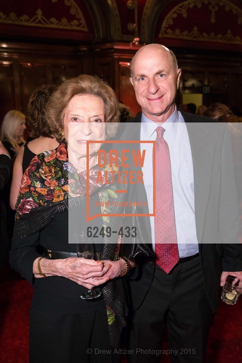 Doris Fisher, Bill Fisher, SFMOMA Contemporary Vision Award, Regency Ballroom. 1300 Van Ness, November 3rd, 2015