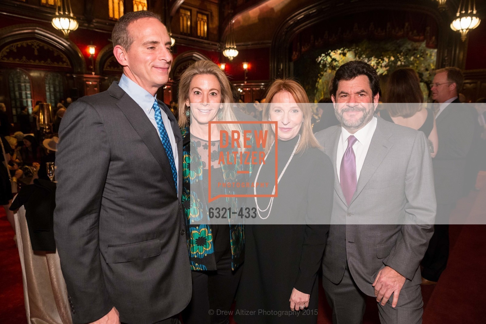 Jim Tananbaum, Dana Tananbaum, Lisa Pritzker, John Pritzker, SFMOMA Contemporary Vision Award, Regency Ballroom. 1300 Van Ness, November 3rd, 2015