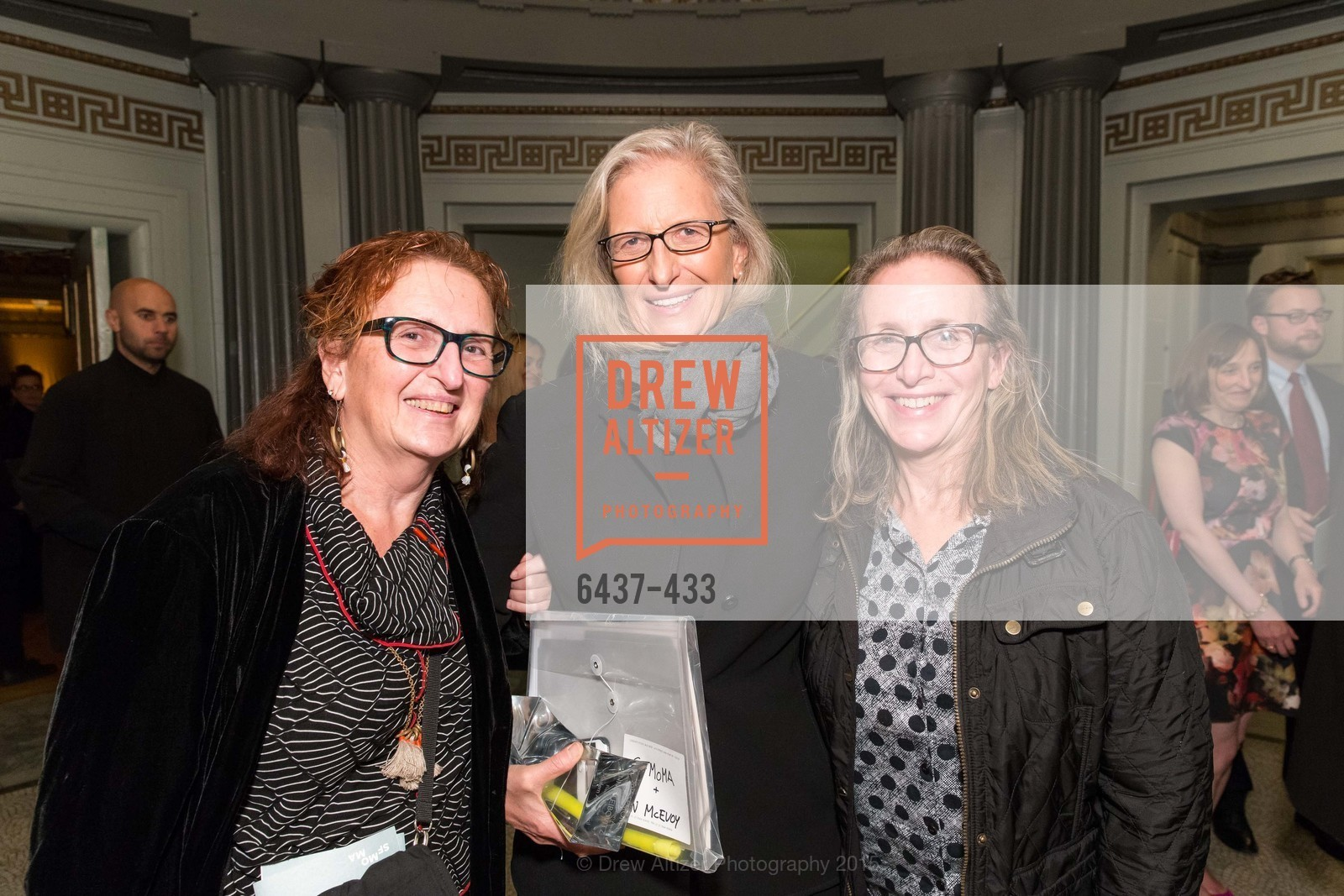 Susan Leibovitz Steinman, Annie Leibovitz, Paula Leibovitz Goodwin, SFMOMA Contemporary Vision Award, Regency Ballroom. 1300 Van Ness, November 3rd, 2015,Drew Altizer, Drew Altizer Photography, full-service agency, private events, San Francisco photographer, photographer california