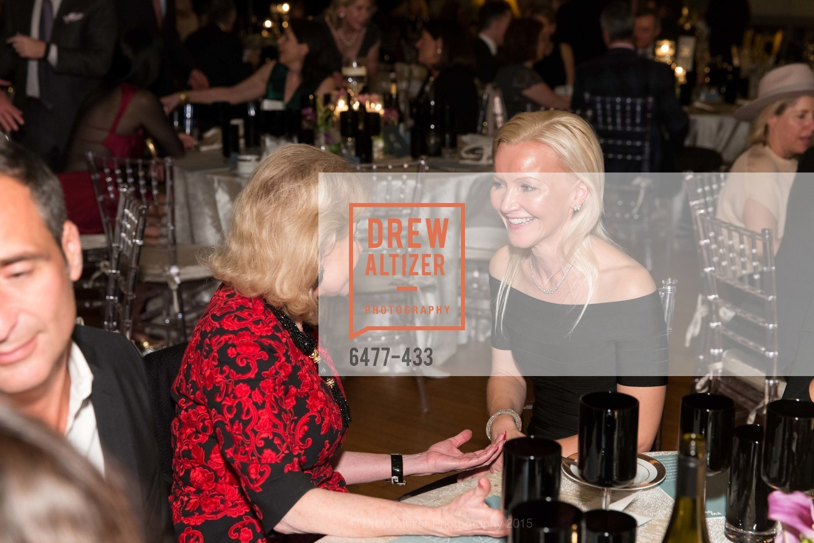 Dede Wilsey, Nathalie Delrue-McGuire, SFMOMA Contemporary Vision Award, Regency Ballroom. 1300 Van Ness, November 3rd, 2015,Drew Altizer, Drew Altizer Photography, full-service agency, private events, San Francisco photographer, photographer california