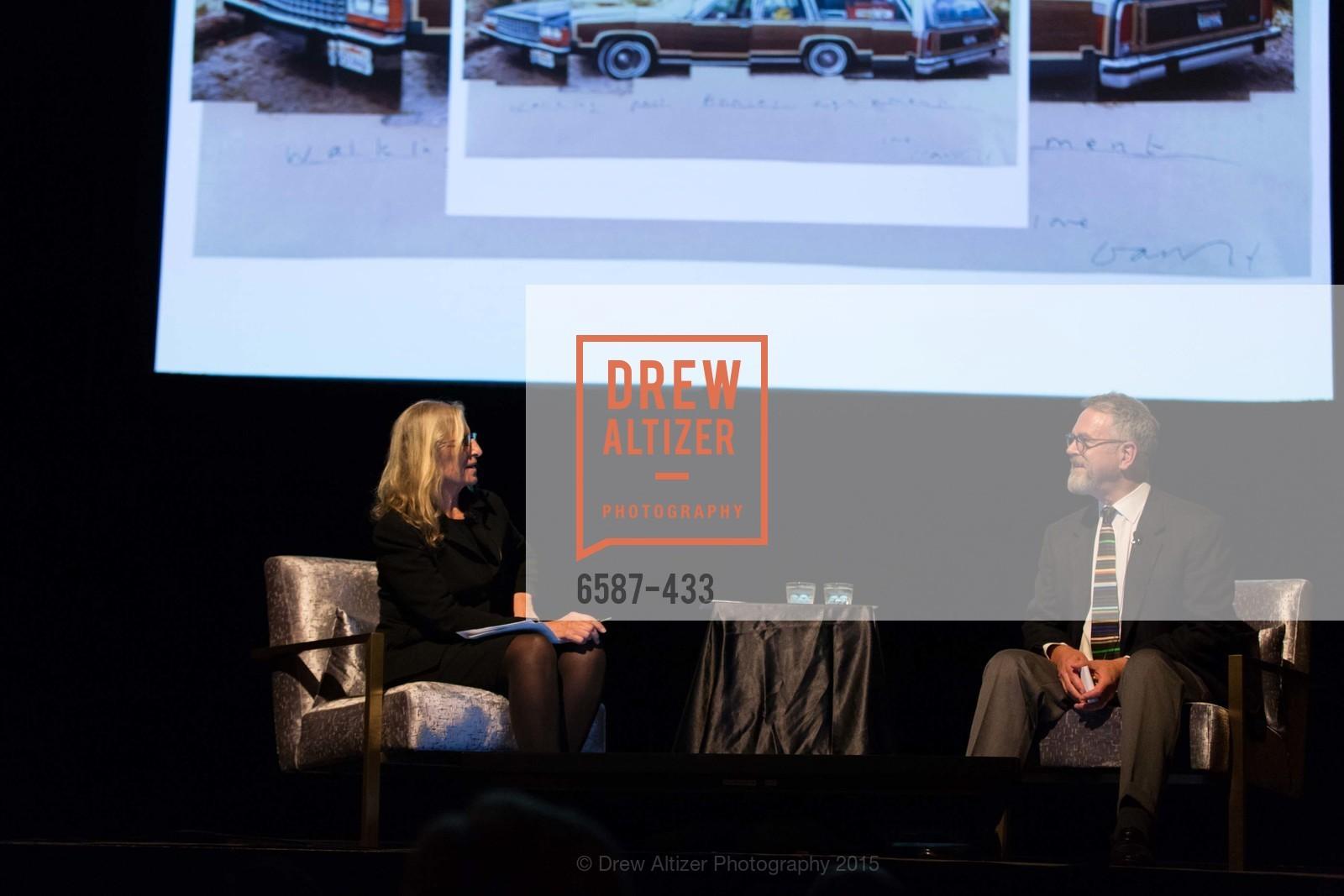 Annie Leibovitz, Nion McEvoy, SFMOMA Contemporary Vision Award, Regency Ballroom. 1300 Van Ness, November 3rd, 2015