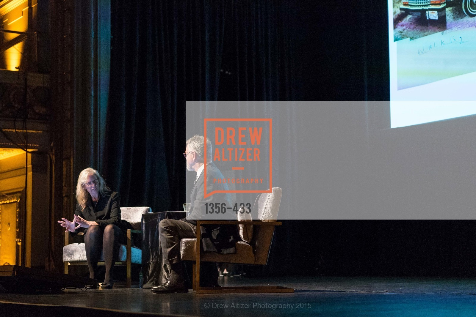 Annie Leibovitz, Nion McEvoy, SFMOMA Contemporary Vision Award, Regency Ballroom. 1300 Van Ness, November 3rd, 2015,Drew Altizer, Drew Altizer Photography, full-service event agency, private events, San Francisco photographer, photographer California