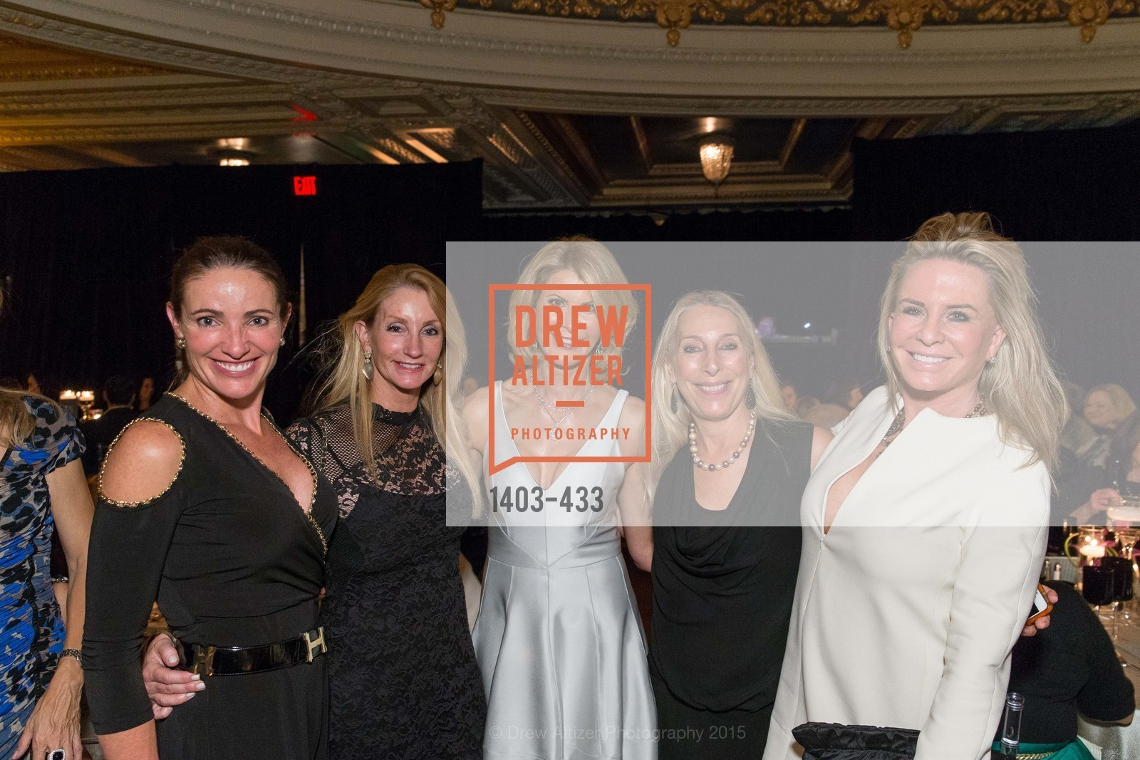 Annie Laury, Jenny Harris, Cynthia Deaver, Betsy Linder, Tracy Katz, SFMOMA Contemporary Vision Award, Regency Ballroom. 1300 Van Ness, November 3rd, 2015,Drew Altizer, Drew Altizer Photography, full-service agency, private events, San Francisco photographer, photographer california