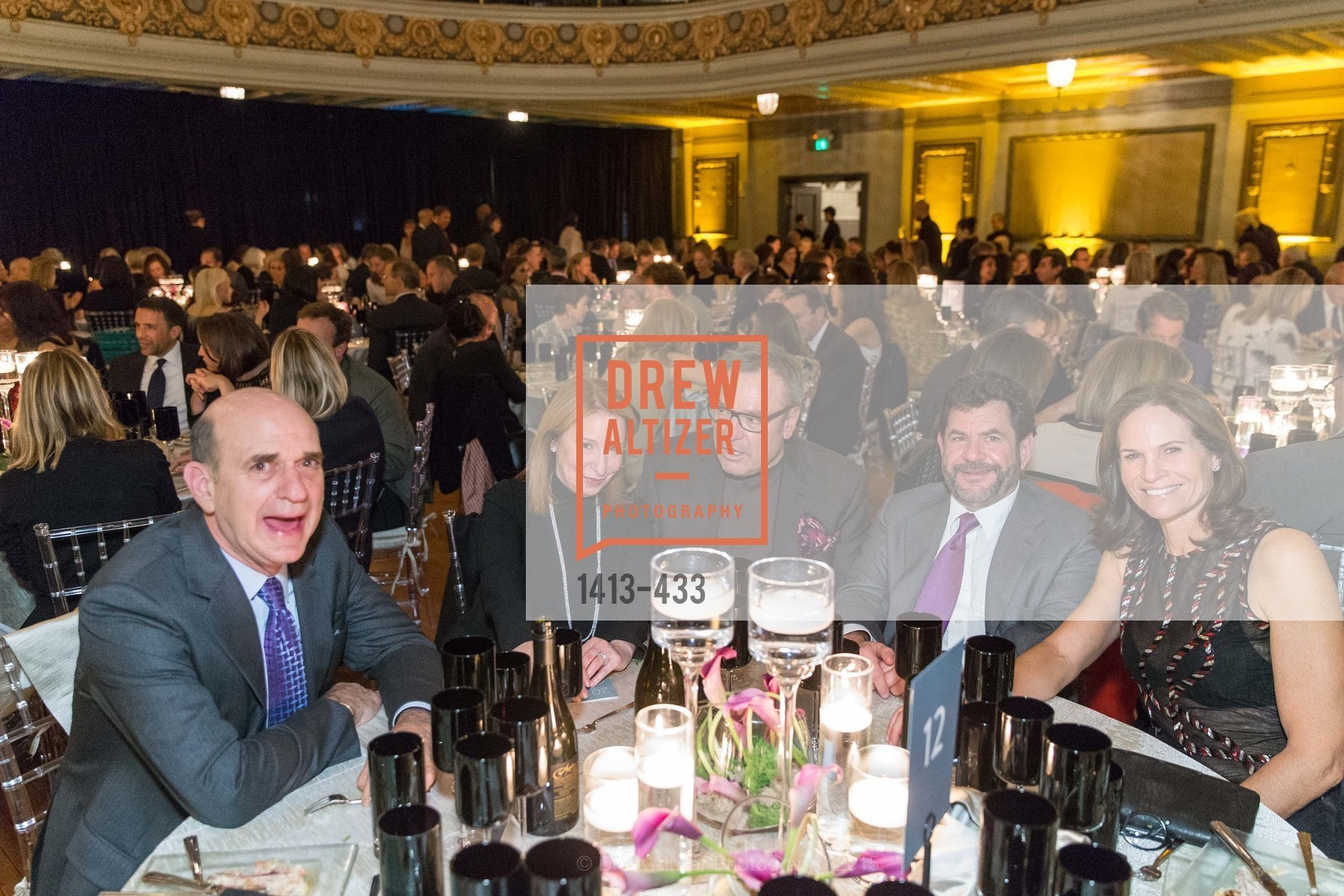 Bob Fisher, Lisa Pritzker, Stanlee Gatti, John Pritzker, Randi Fisher, SFMOMA Contemporary Vision Award, Regency Ballroom. 1300 Van Ness, November 3rd, 2015,Drew Altizer, Drew Altizer Photography, full-service agency, private events, San Francisco photographer, photographer california