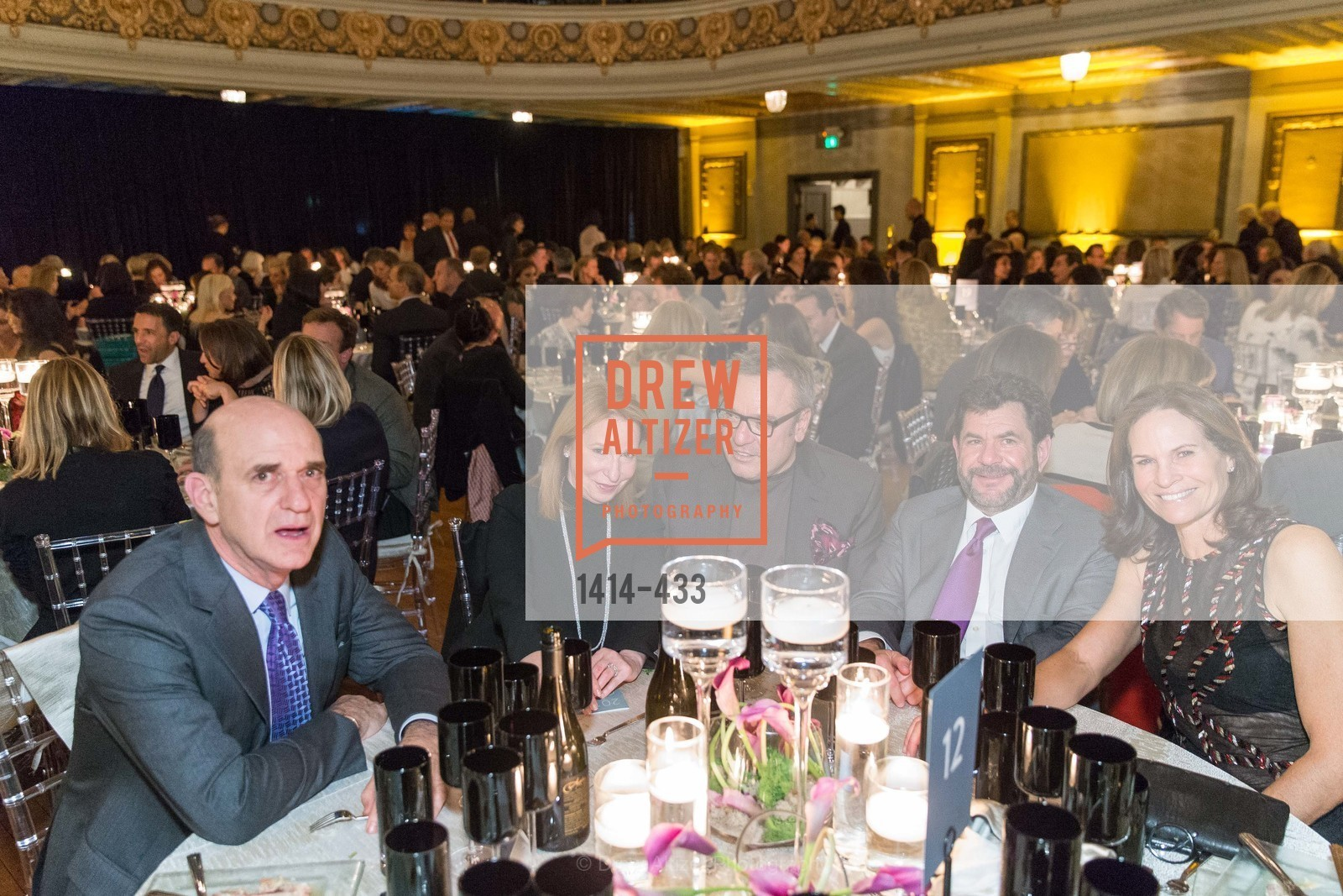 Bob Fisher, Lisa Pritzker, Stanlee Gatti, John Pritzker, Randi Fisher, SFMOMA Contemporary Vision Award, Regency Ballroom. 1300 Van Ness, November 3rd, 2015,Drew Altizer, Drew Altizer Photography, full-service event agency, private events, San Francisco photographer, photographer California
