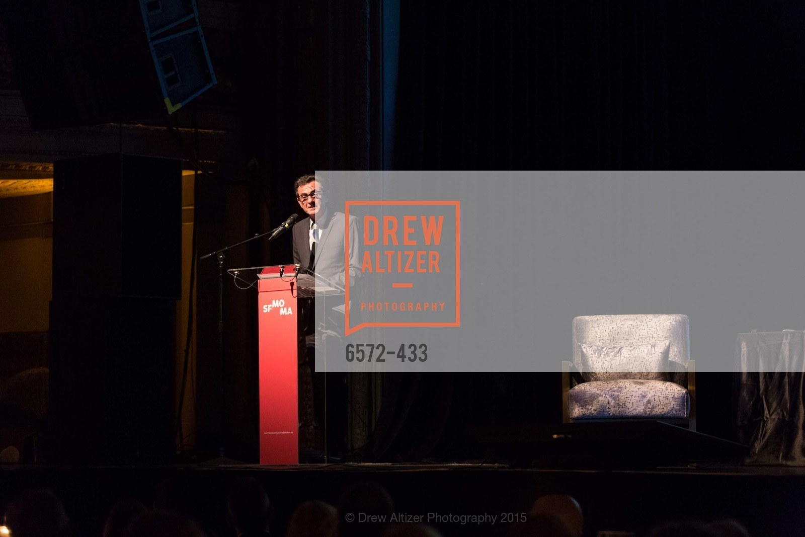 Neal Benezra, SFMOMA Contemporary Vision Award, Regency Ballroom. 1300 Van Ness, November 3rd, 2015