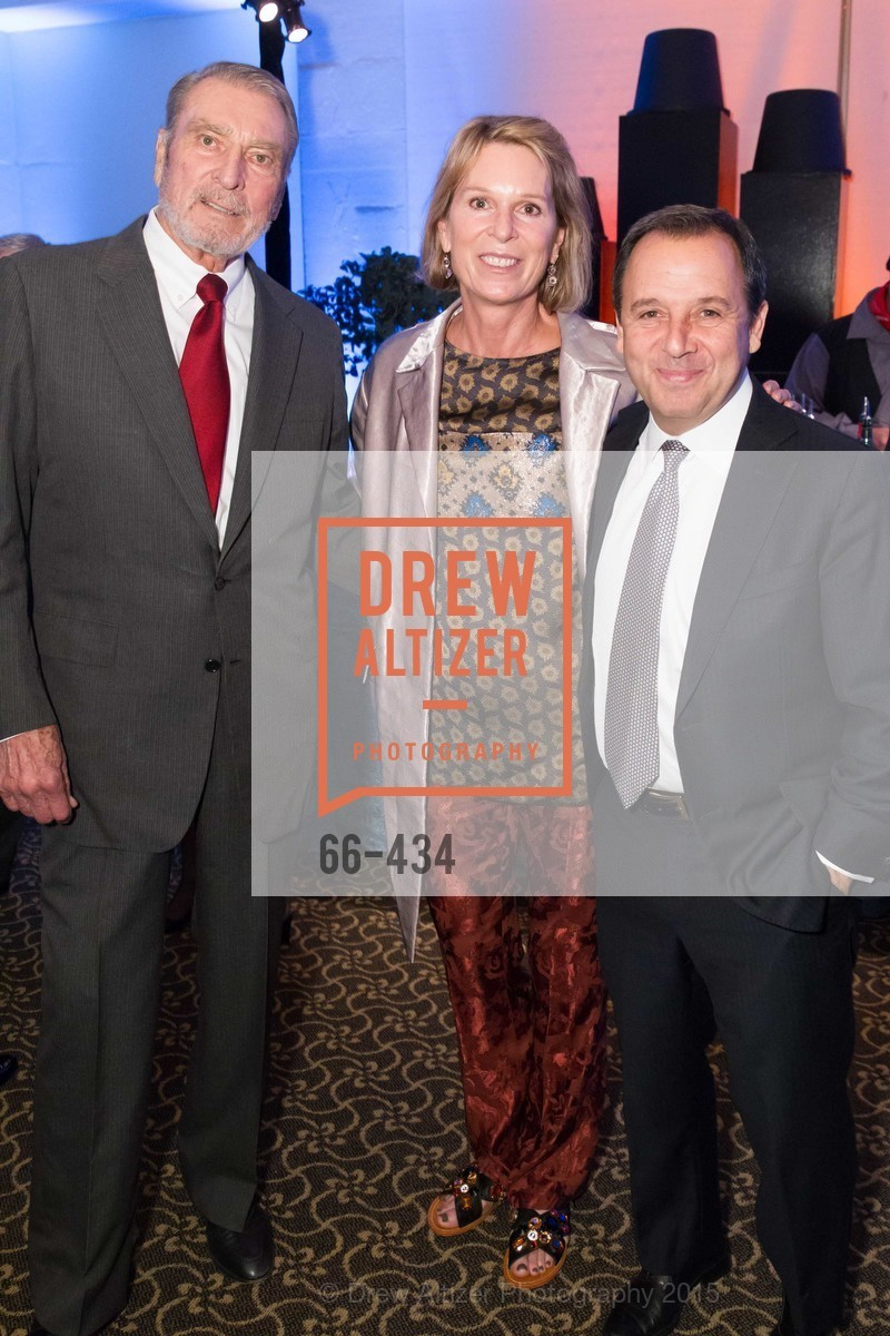Ron Miller, Jennifer Goff, Ron Suskind, The Walt Disney Family Museum Fundraising Gala and Diane Disney Miller Lifetime Achievement Award, Golden Gate Club. 135 Fisher Loop in the Presidio, November 3rd, 2015,Drew Altizer, Drew Altizer Photography, full-service agency, private events, San Francisco photographer, photographer california