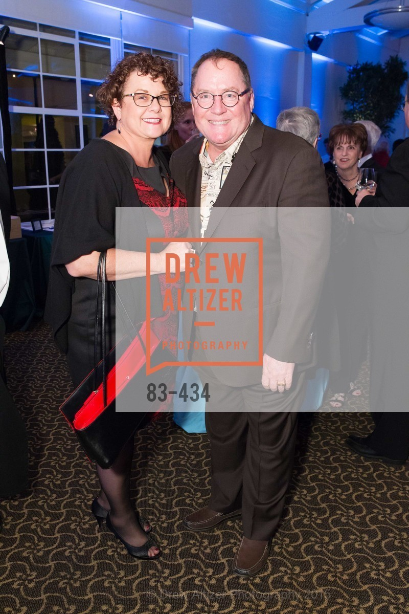 Nancy Lasseter, John Lasseter, The Walt Disney Family Museum Fundraising Gala and Diane Disney Miller Lifetime Achievement Award, Golden Gate Club. 135 Fisher Loop in the Presidio, November 3rd, 2015,Drew Altizer, Drew Altizer Photography, full-service agency, private events, San Francisco photographer, photographer california