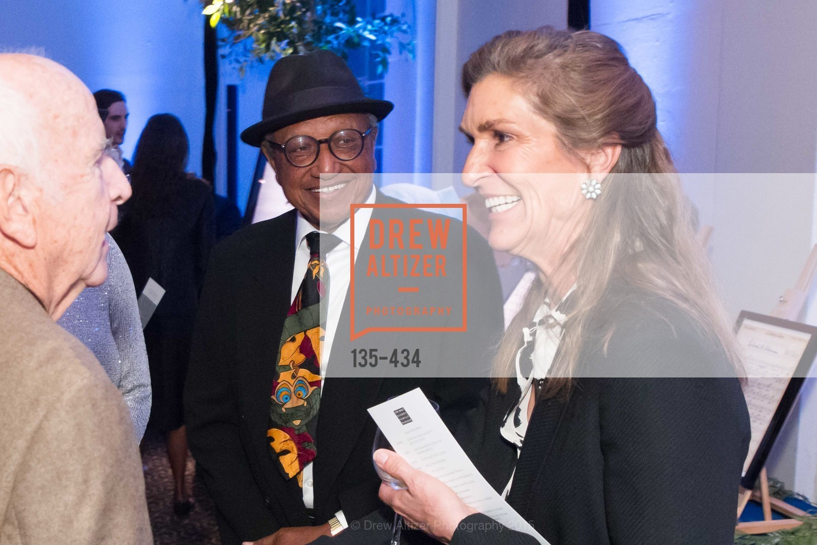 Floyd Norman, Tammy Miller, The Walt Disney Family Museum Fundraising Gala and Diane Disney Miller Lifetime Achievement Award, Golden Gate Club. 135 Fisher Loop in the Presidio, November 3rd, 2015,Drew Altizer, Drew Altizer Photography, full-service agency, private events, San Francisco photographer, photographer california