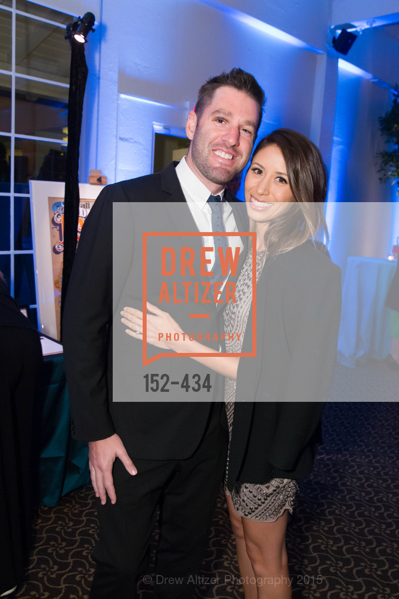 Mark DiPaola, Jessica DiPaola, The Walt Disney Family Museum Fundraising Gala and Diane Disney Miller Lifetime Achievement Award, Golden Gate Club. 135 Fisher Loop in the Presidio, November 3rd, 2015