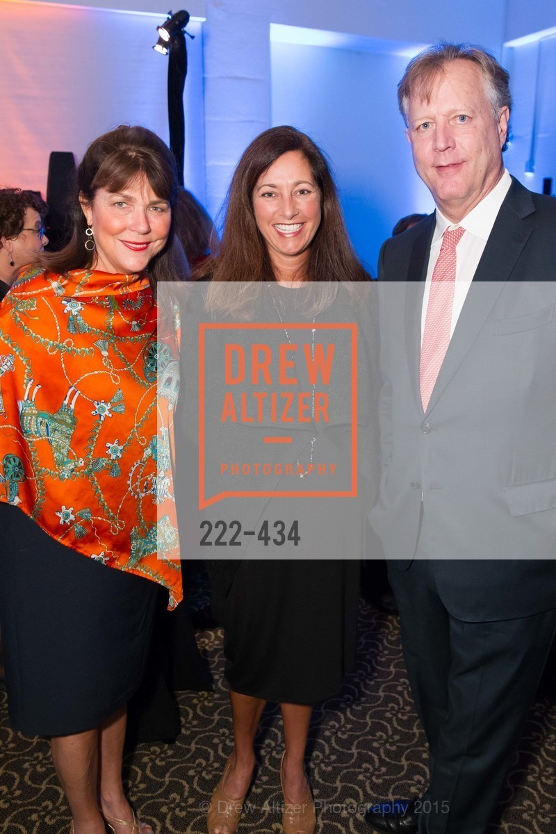 Liz Vaughn, Wendy Eckart, Greg Vaughn, The Walt Disney Family Museum Fundraising Gala and Diane Disney Miller Lifetime Achievement Award, Golden Gate Club. 135 Fisher Loop in the Presidio, November 3rd, 2015,Drew Altizer, Drew Altizer Photography, full-service agency, private events, San Francisco photographer, photographer california
