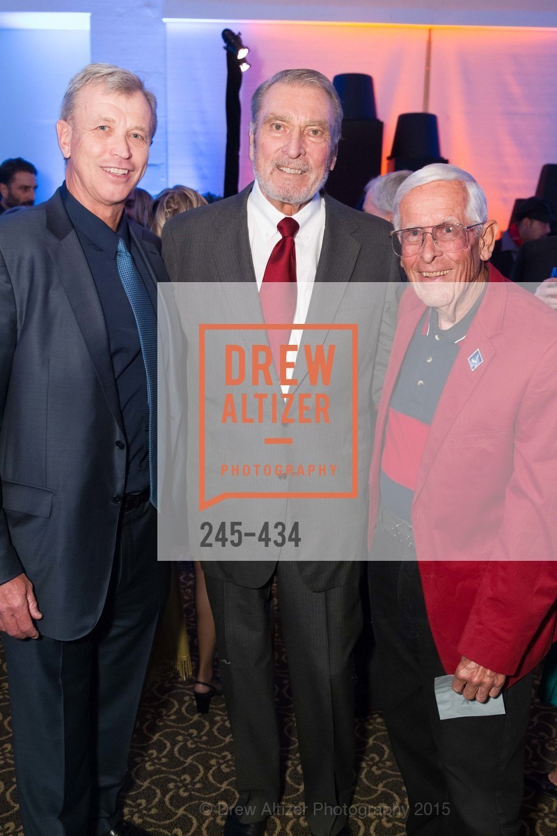 Geoff Rehnert, Ron Miller, Bob Gurr, The Walt Disney Family Museum Fundraising Gala and Diane Disney Miller Lifetime Achievement Award, Golden Gate Club. 135 Fisher Loop in the Presidio, November 3rd, 2015,Drew Altizer, Drew Altizer Photography, full-service agency, private events, San Francisco photographer, photographer california