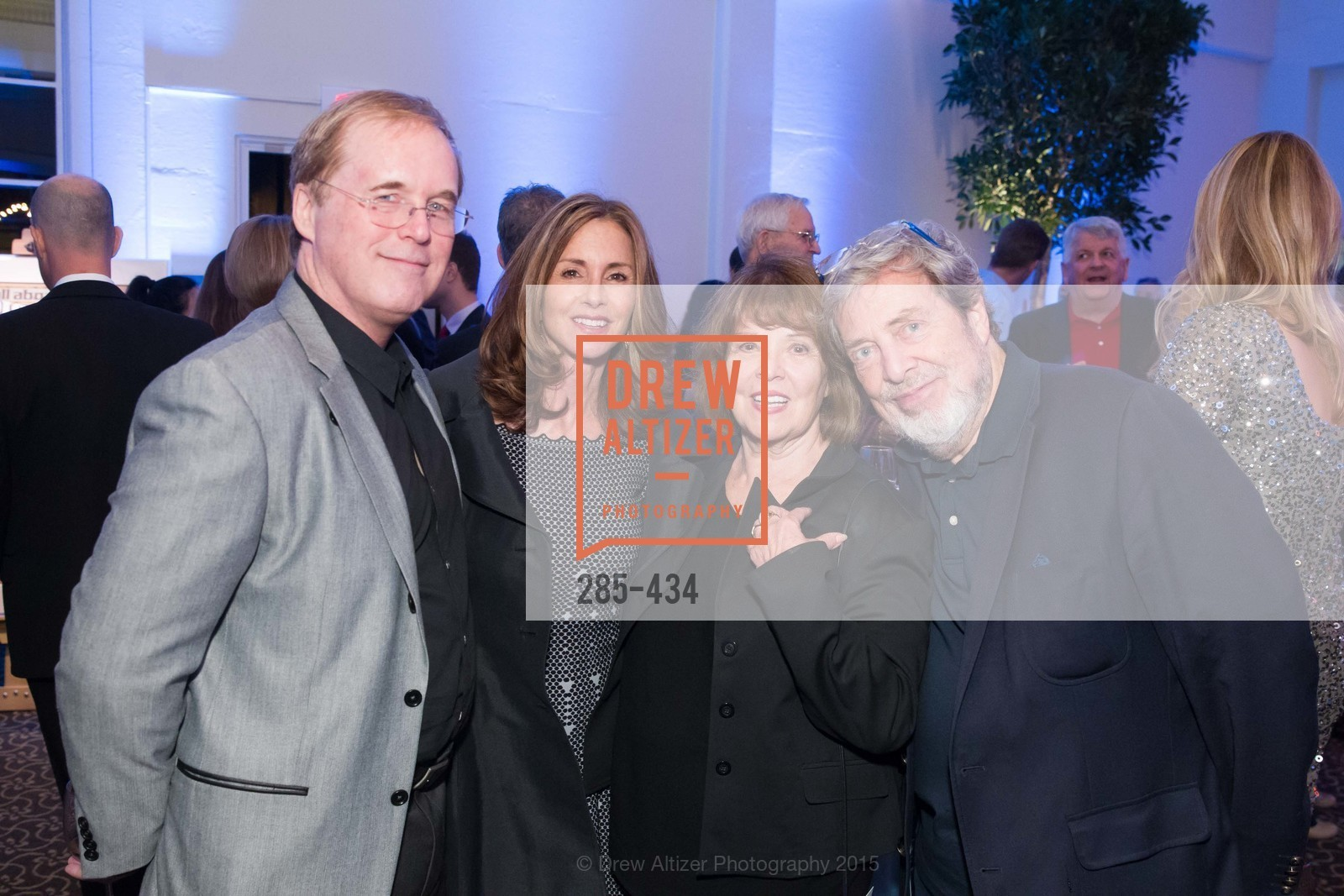 Brad Bird, Elizabeth Bird, Genevieve Walton, Tony Walton, The Walt Disney Family Museum Fundraising Gala and Diane Disney Miller Lifetime Achievement Award, Golden Gate Club. 135 Fisher Loop in the Presidio, November 3rd, 2015,Drew Altizer, Drew Altizer Photography, full-service event agency, private events, San Francisco photographer, photographer California
