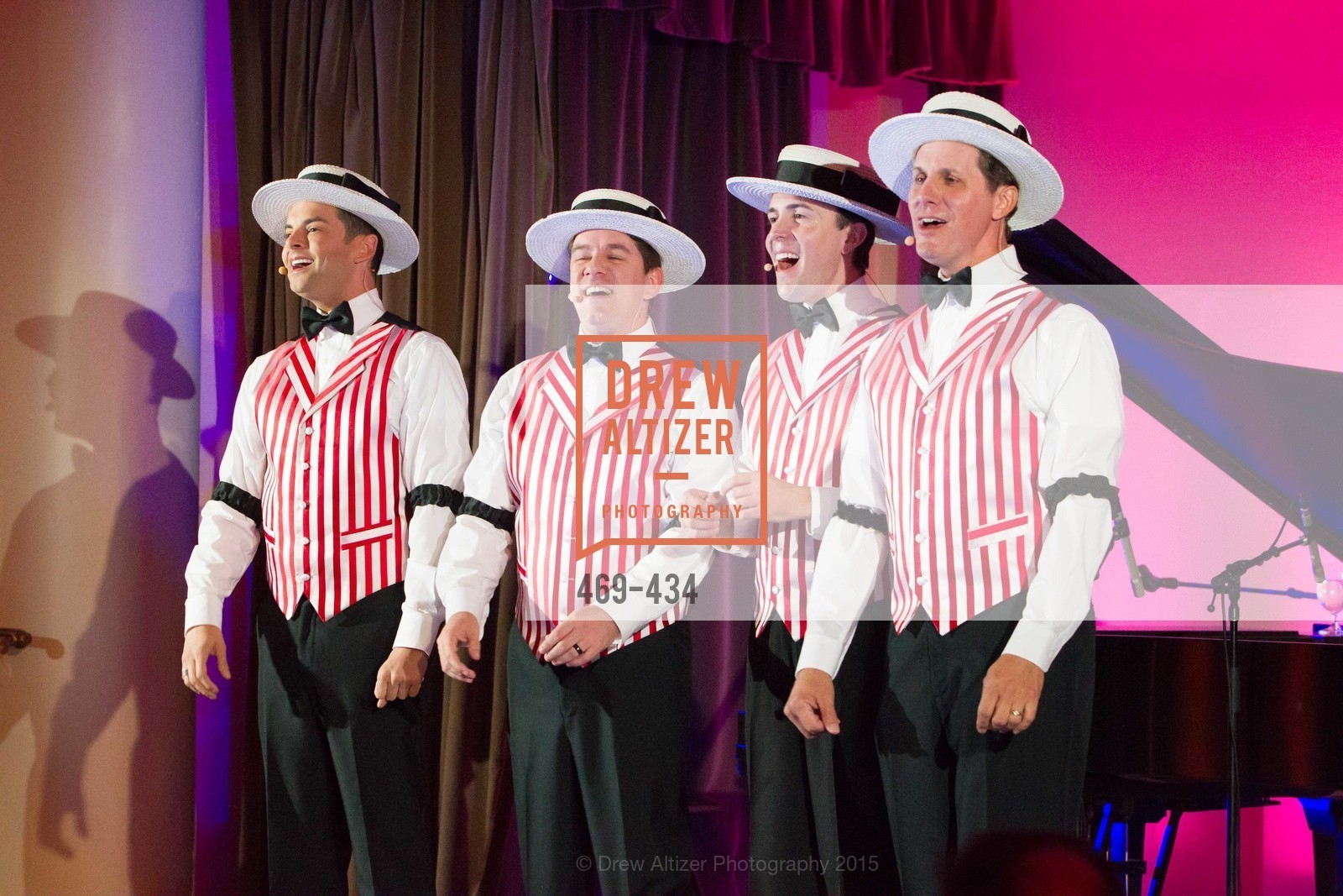 Performance By Dapper Dans of Disneyland, The Walt Disney Family Museum Fundraising Gala and Diane Disney Miller Lifetime Achievement Award, Golden Gate Club. 135 Fisher Loop in the Presidio, November 3rd, 2015