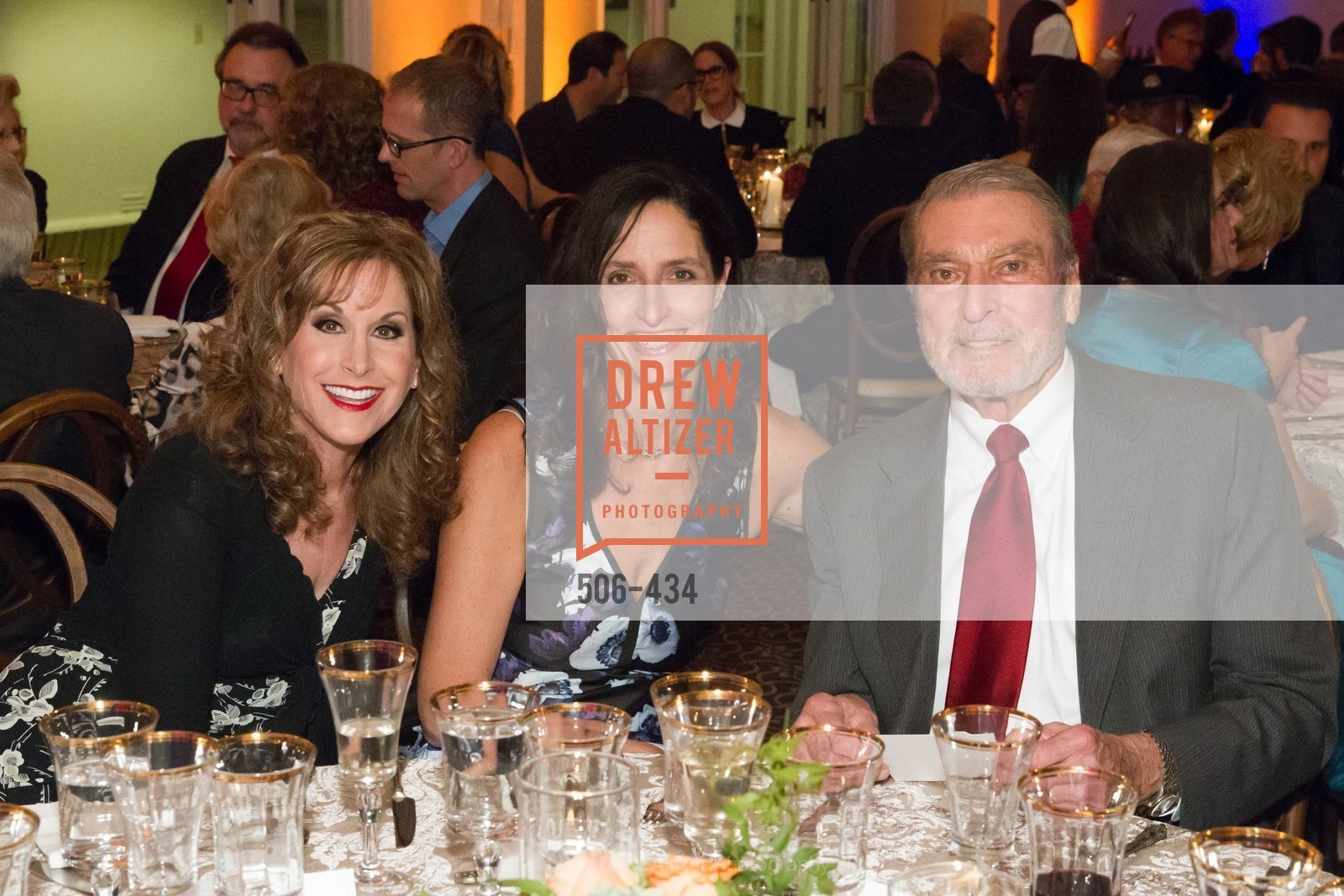 Jodi Benson, Kirsten Komoroske, Ron Miller, The Walt Disney Family Museum Fundraising Gala and Diane Disney Miller Lifetime Achievement Award, Golden Gate Club. 135 Fisher Loop in the Presidio, November 3rd, 2015,Drew Altizer, Drew Altizer Photography, full-service event agency, private events, San Francisco photographer, photographer California