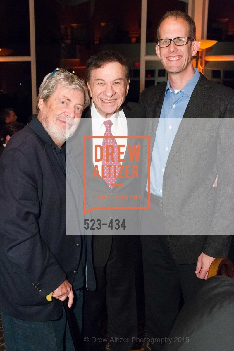 Tony Walton, Richard Sherman, Pete Docter, The Walt Disney Family Museum Fundraising Gala and Diane Disney Miller Lifetime Achievement Award, Golden Gate Club. 135 Fisher Loop in the Presidio, November 3rd, 2015