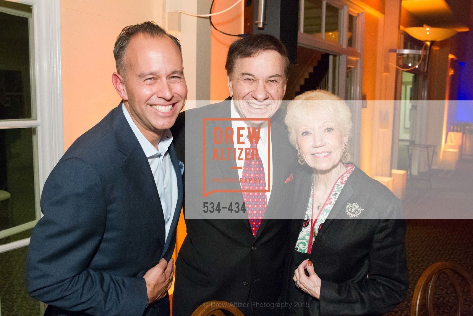 Jonas Rivera, Richard Sherman, Elizabeth Sherman, The Walt Disney Family Museum Fundraising Gala and Diane Disney Miller Lifetime Achievement Award, Golden Gate Club. 135 Fisher Loop in the Presidio, November 3rd, 2015,Drew Altizer, Drew Altizer Photography, full-service agency, private events, San Francisco photographer, photographer california