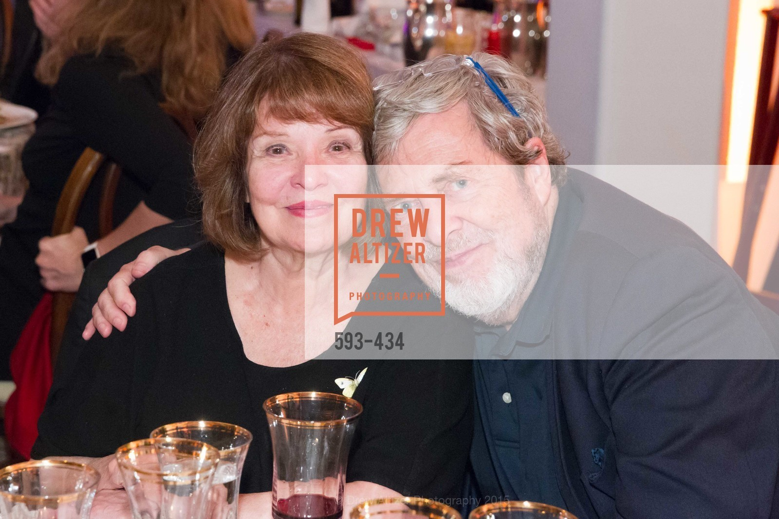 Geneieve Walton, Tony Walton, The Walt Disney Family Museum Fundraising Gala and Diane Disney Miller Lifetime Achievement Award, Golden Gate Club. 135 Fisher Loop in the Presidio, November 3rd, 2015,Drew Altizer, Drew Altizer Photography, full-service agency, private events, San Francisco photographer, photographer california