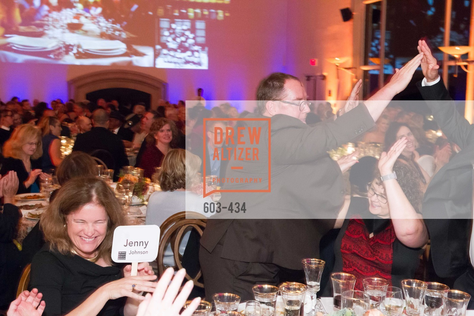John Lasseter, The Walt Disney Family Museum Fundraising Gala and Diane Disney Miller Lifetime Achievement Award, Golden Gate Club. 135 Fisher Loop in the Presidio, November 3rd, 2015