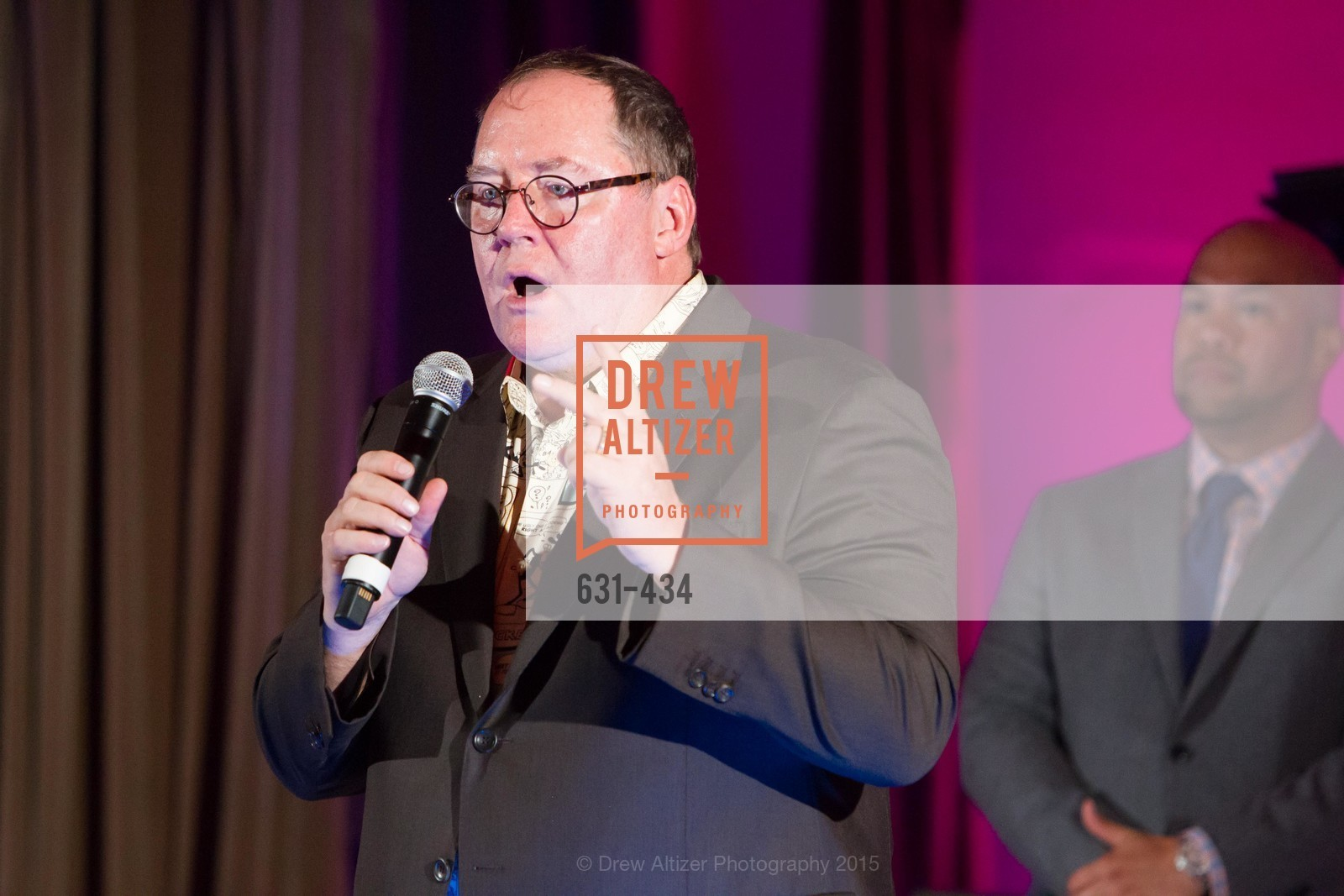 John Lasseter, The Walt Disney Family Museum Fundraising Gala and Diane Disney Miller Lifetime Achievement Award, Golden Gate Club. 135 Fisher Loop in the Presidio, November 3rd, 2015,Drew Altizer, Drew Altizer Photography, full-service agency, private events, San Francisco photographer, photographer california