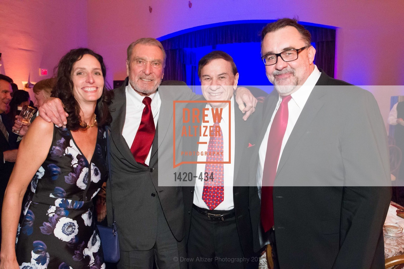 Kirsten Komoroske, Ron Miller, Richard Sherman, Don Hahn, The Walt Disney Family Museum Fundraising Gala and Diane Disney Miller Lifetime Achievement Award, Golden Gate Club. 135 Fisher Loop in the Presidio, November 3rd, 2015,Drew Altizer, Drew Altizer Photography, full-service agency, private events, San Francisco photographer, photographer california