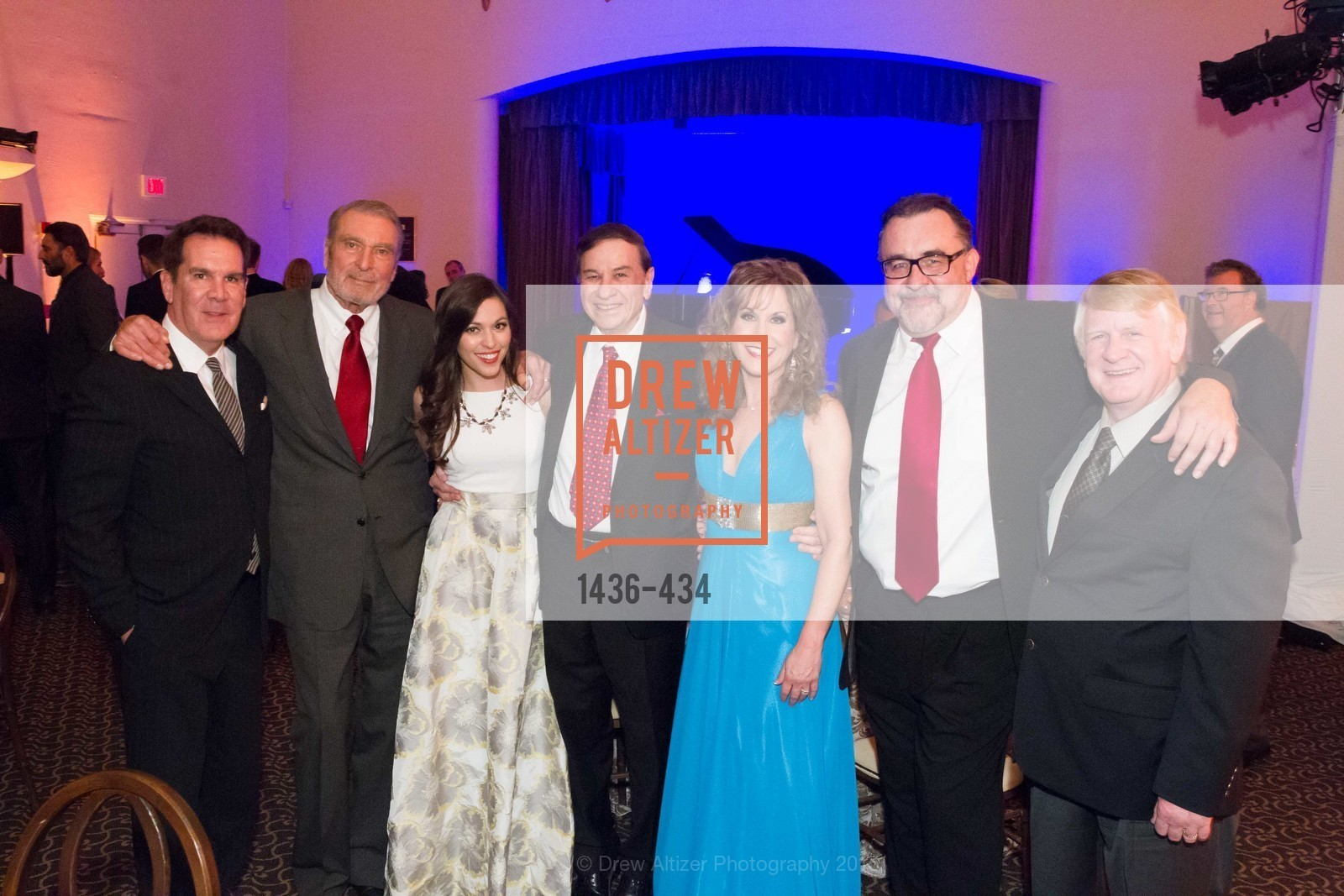 Tony Anselmo, Ron Miller, Juliana Hansen, Richard Sherman, Jodi Benson, Don Hahn, Bill Farmer, The Walt Disney Family Museum Fundraising Gala and Diane Disney Miller Lifetime Achievement Award, Golden Gate Club. 135 Fisher Loop in the Presidio, November 3rd, 2015,Drew Altizer, Drew Altizer Photography, full-service agency, private events, San Francisco photographer, photographer california