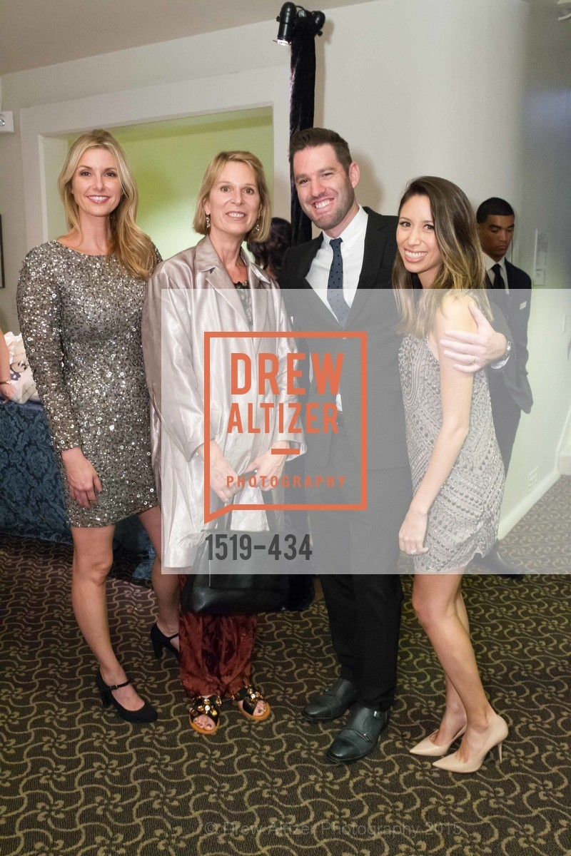 Molly Alexander, Jennifer Goff, Mark DiPaola, Jessica DiPaola, The Walt Disney Family Museum Fundraising Gala and Diane Disney Miller Lifetime Achievement Award, Golden Gate Club. 135 Fisher Loop in the Presidio, November 3rd, 2015,Drew Altizer, Drew Altizer Photography, full-service agency, private events, San Francisco photographer, photographer california