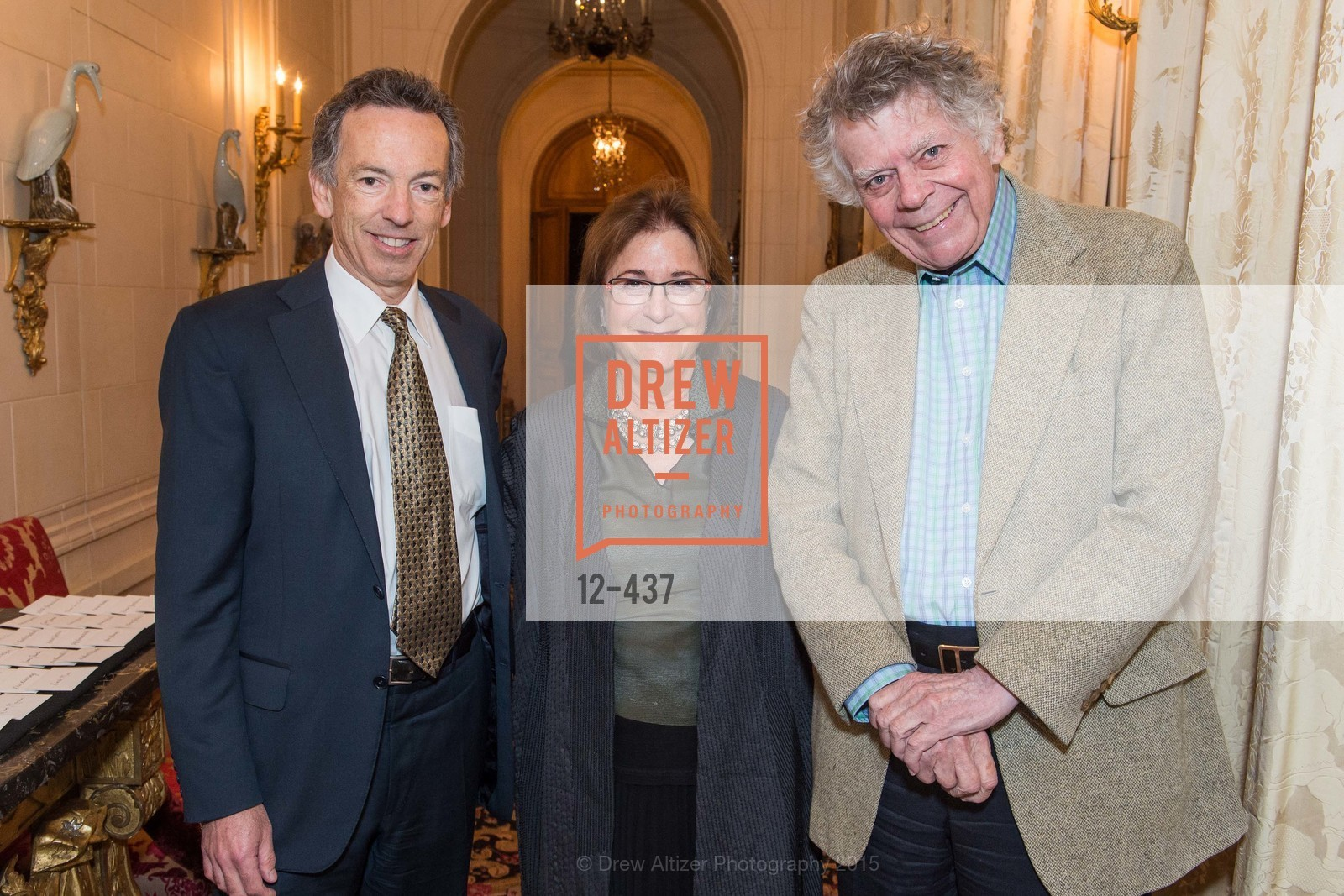 Rick Walker, Alice Corning, Gordon Getty, FDS Vintner Reception and Dinner, Private Residence, November 4th, 2015,Drew Altizer, Drew Altizer Photography, full-service agency, private events, San Francisco photographer, photographer california