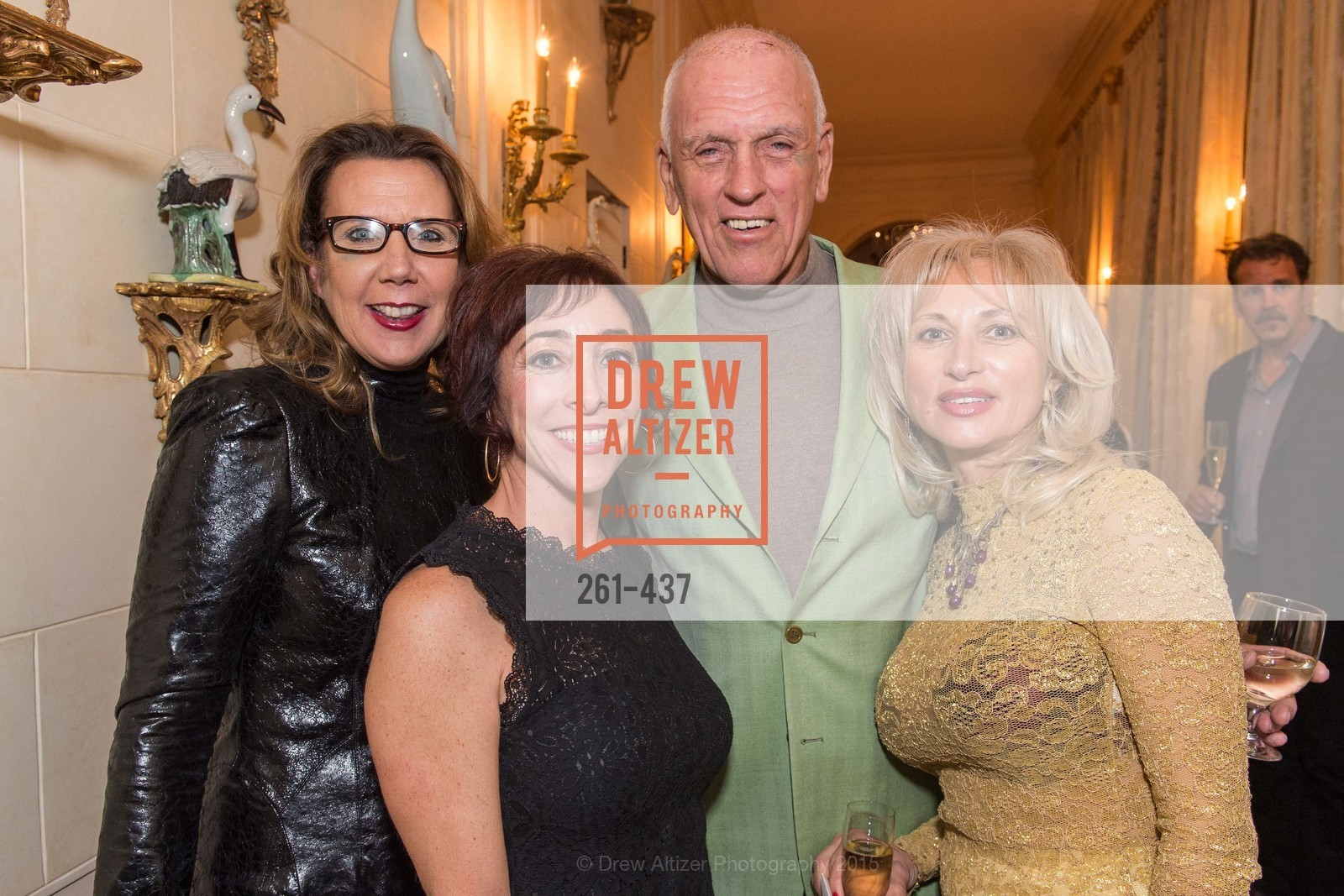 Gina Gallo, Dario Sattui, Irina Yartseva, FDS Vintner Reception and Dinner, Private Residence, November 4th, 2015,Drew Altizer, Drew Altizer Photography, full-service agency, private events, San Francisco photographer, photographer california