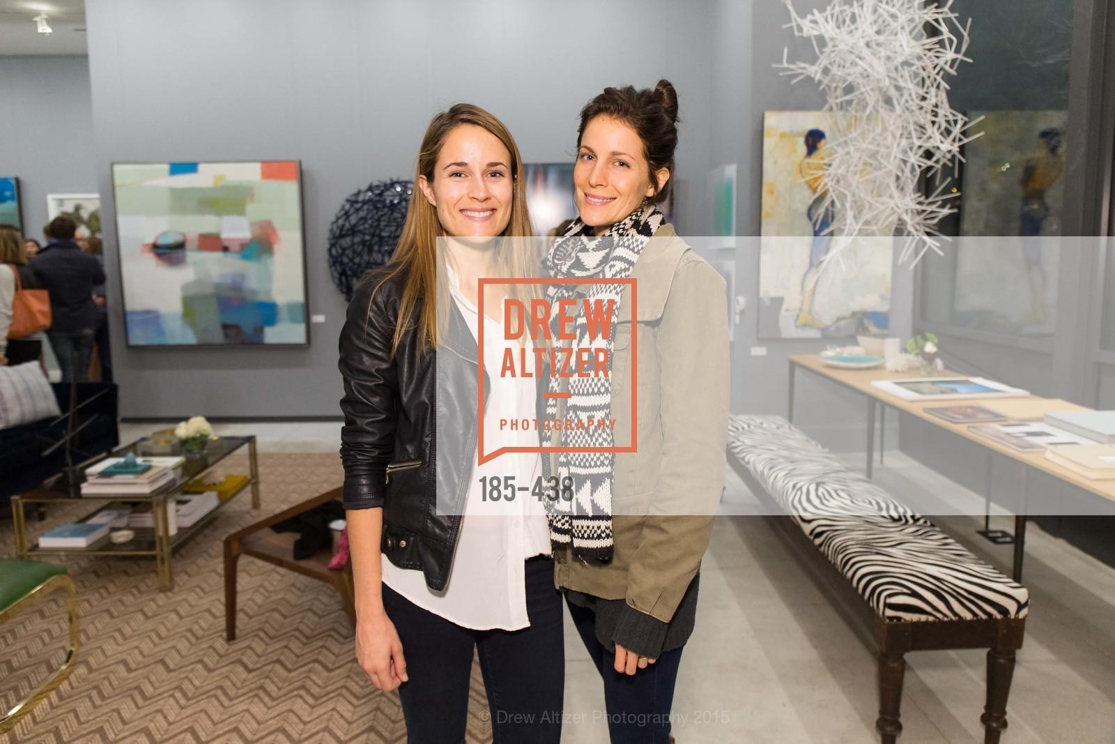 Katy Peck, Grace Peck, Stephanie Breitbard Fine Arts San Francisco Opening, Stephanie Breitbard Fine Arts. 843 Montgomery St, November 4th, 2015