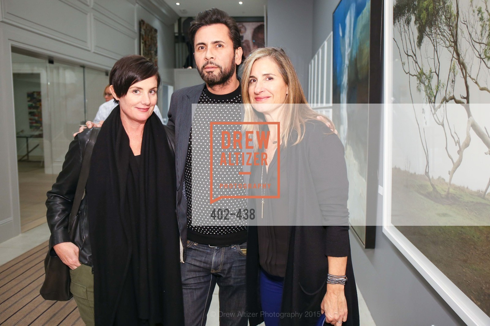 Gabrey Means, Joseph Medeliv, Stephanie Breitbard Fine Arts San Francisco Opening, Stephanie Breitbard Fine Arts. 843 Montgomery St, November 4th, 2015,Drew Altizer, Drew Altizer Photography, full-service agency, private events, San Francisco photographer, photographer california