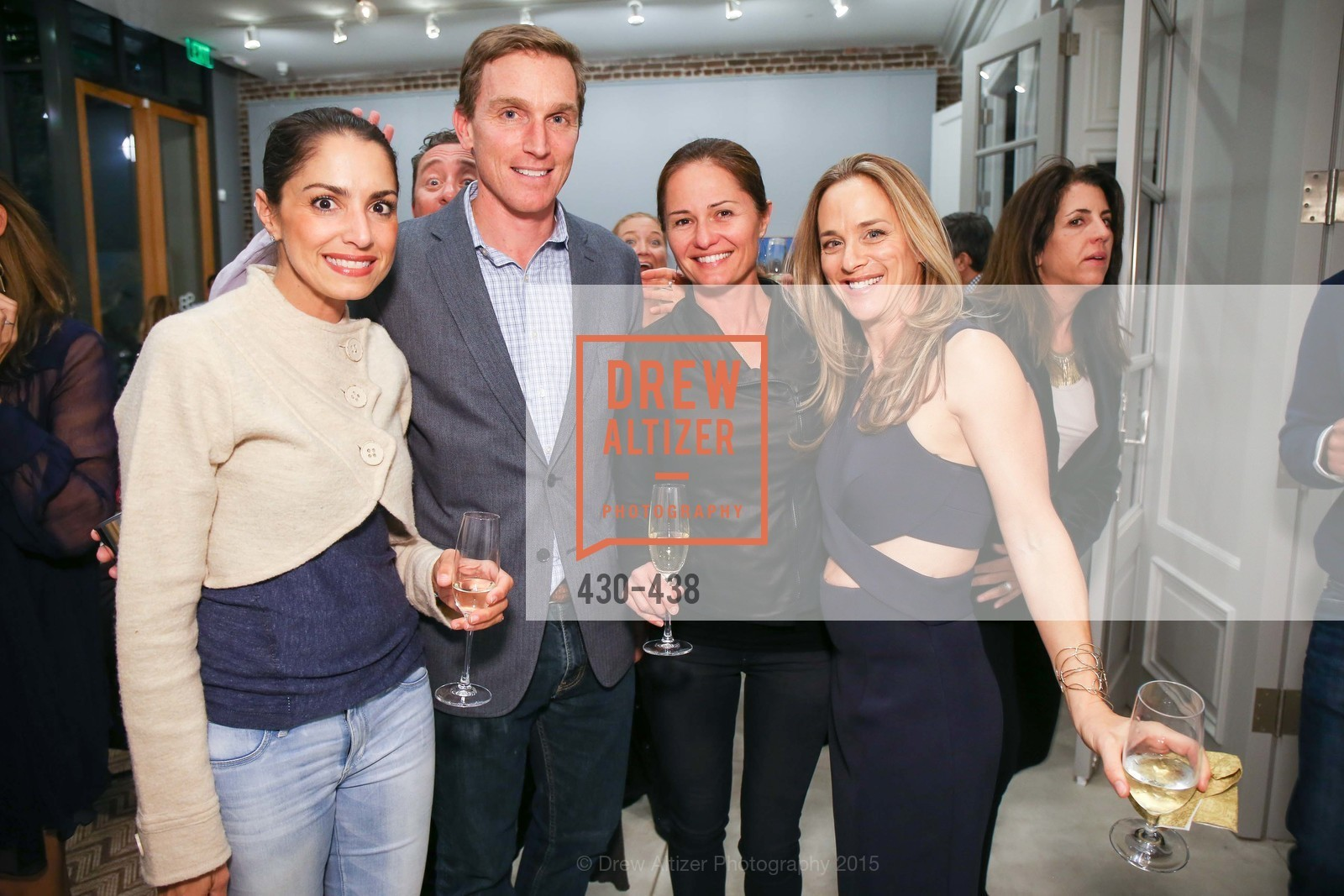 Shirin Aryanpour, Charles Benziger, Amelia Buchanan. Stephanie Breitbard, Stephanie Breitbard Fine Arts San Francisco Opening, Stephanie Breitbard Fine Arts. 843 Montgomery St, November 4th, 2015,Drew Altizer, Drew Altizer Photography, full-service agency, private events, San Francisco photographer, photographer california