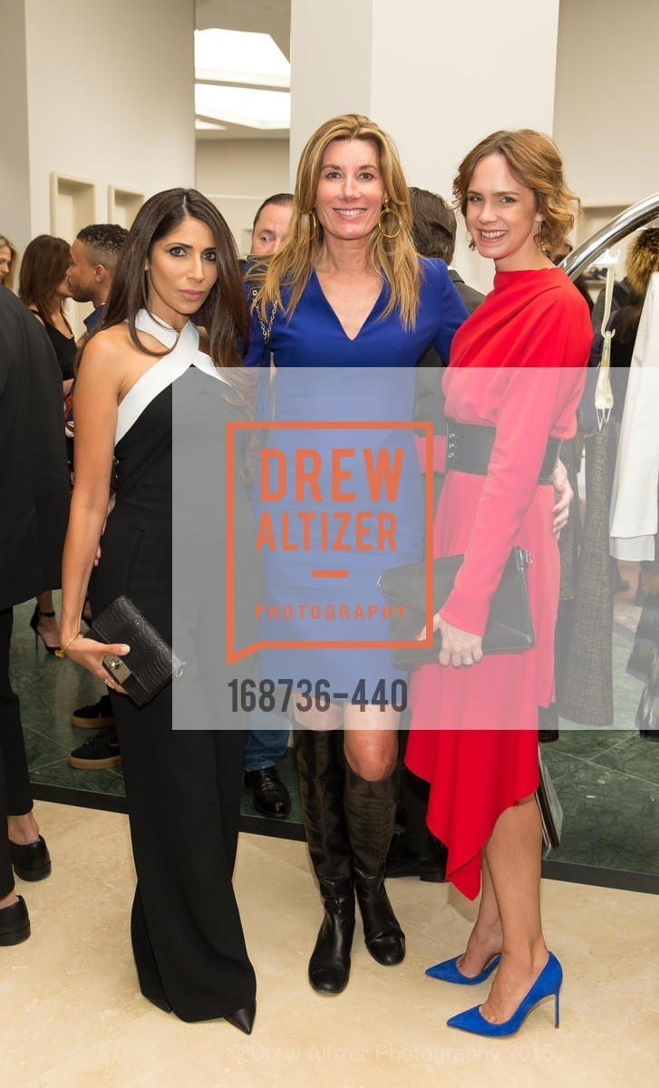 Sobia Shaikh, Susan Dunlevy, Jessica Moment, W Magazine and BAMPFA Celebrate the Opening of the Marni San Francisco Boutique with co-hosts Sabrina Buell and Alison Pincus, Marni San Francisco. 77 Maiden Lane, November 4th, 2015,Drew Altizer, Drew Altizer Photography, full-service agency, private events, San Francisco photographer, photographer california