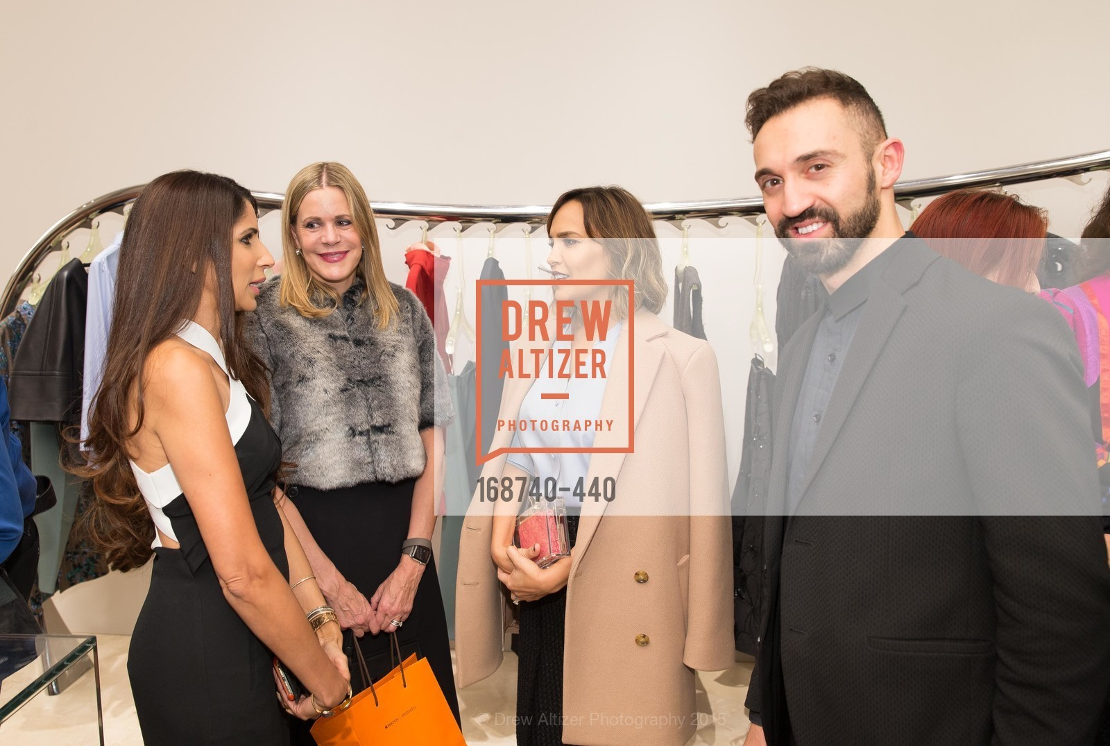 Sobia Shaikh, Mary Beth Shimmon, Stephan Rabimov, Lora DuBain, W Magazine and BAMPFA Celebrate the Opening of the Marni San Francisco Boutique with co-hosts Sabrina Buell and Alison Pincus, Marni San Francisco. 77 Maiden Lane, November 4th, 2015,Drew Altizer, Drew Altizer Photography, full-service event agency, private events, San Francisco photographer, photographer California