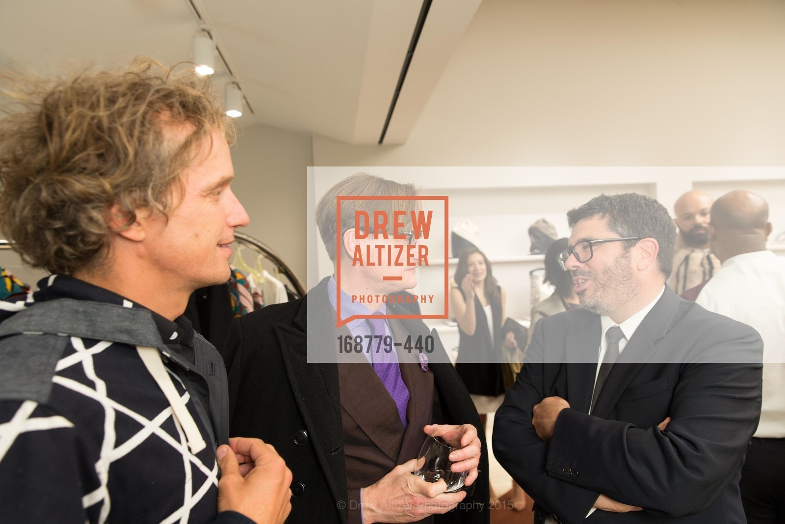 Yves Behar, Hamish Bowles, Andrea Baldo, W Magazine and BAMPFA Celebrate the Opening of the Marni San Francisco Boutique with co-hosts Sabrina Buell and Alison Pincus, Marni San Francisco. 77 Maiden Lane, November 4th, 2015,Drew Altizer, Drew Altizer Photography, full-service agency, private events, San Francisco photographer, photographer california
