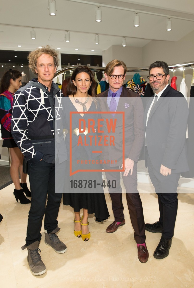 Yves Behar, Sabrina Buell, Hamish Bowles, Andrea Baldo, W Magazine and BAMPFA Celebrate the Opening of the Marni San Francisco Boutique with co-hosts Sabrina Buell and Alison Pincus, Marni San Francisco. 77 Maiden Lane, November 4th, 2015,Drew Altizer, Drew Altizer Photography, full-service agency, private events, San Francisco photographer, photographer california