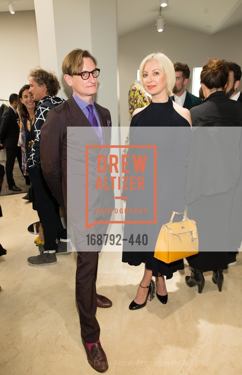 Hamish Bowles, Sonya Molodetskaya, W Magazine and BAMPFA Celebrate the Opening of the Marni San Francisco Boutique with co-hosts Sabrina Buell and Alison Pincus, Marni San Francisco. 77 Maiden Lane, November 4th, 2015,Drew Altizer, Drew Altizer Photography, full-service event agency, private events, San Francisco photographer, photographer California