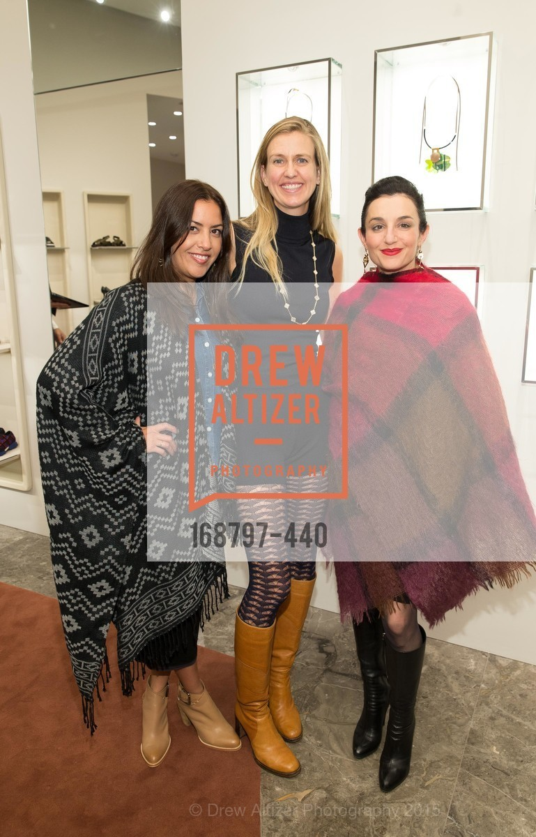 Jennifer Lujan, Kristin Nadaraja, W Magazine and BAMPFA Celebrate the Opening of the Marni San Francisco Boutique with co-hosts Sabrina Buell and Alison Pincus, Marni San Francisco. 77 Maiden Lane, November 4th, 2015,Drew Altizer, Drew Altizer Photography, full-service agency, private events, San Francisco photographer, photographer california