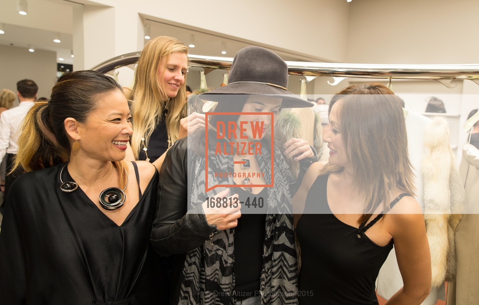 Kristin Nadaraja, Selby Taketa, Amanda Terry, Vaughn Stevenson, W Magazine and BAMPFA Celebrate the Opening of the Marni San Francisco Boutique with co-hosts Sabrina Buell and Alison Pincus, Marni San Francisco. 77 Maiden Lane, November 4th, 2015,Drew Altizer, Drew Altizer Photography, full-service agency, private events, San Francisco photographer, photographer california