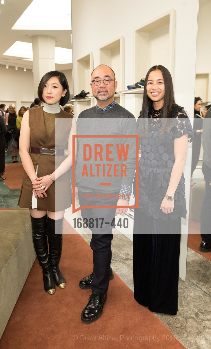 Grace Fin, Derek Yih, Ana Tran, W Magazine and BAMPFA Celebrate the Opening of the Marni San Francisco Boutique with co-hosts Sabrina Buell and Alison Pincus, Marni San Francisco. 77 Maiden Lane, November 4th, 2015,Drew Altizer, Drew Altizer Photography, full-service agency, private events, San Francisco photographer, photographer california