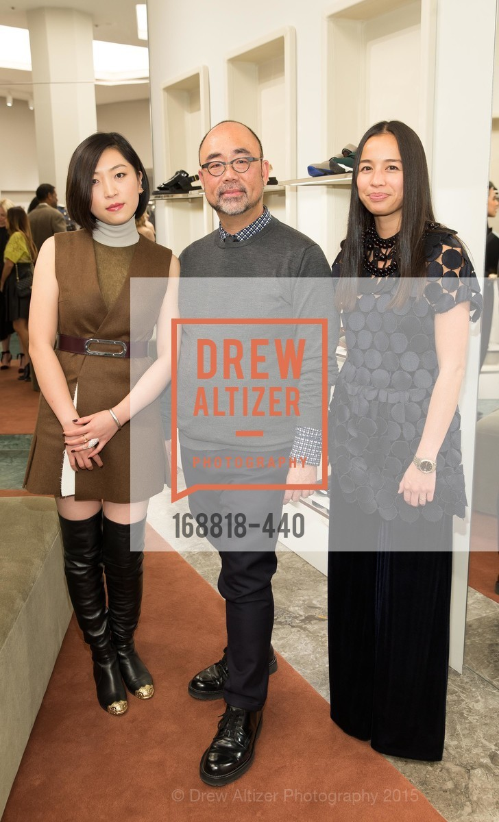 Grace Fin, Derek Yih, Ana Tran, W Magazine and BAMPFA Celebrate the Opening of the Marni San Francisco Boutique with co-hosts Sabrina Buell and Alison Pincus, Marni San Francisco. 77 Maiden Lane, November 4th, 2015