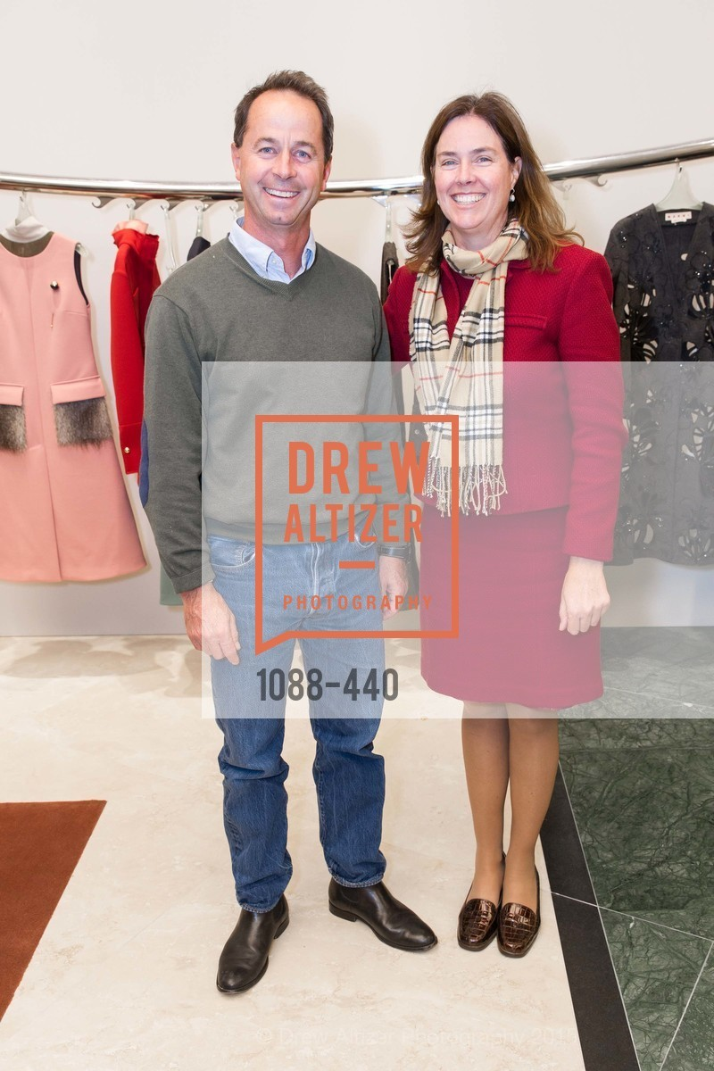 Karin Flood, Carlo Cannell, W Magazine and BAMPFA Celebrate the Opening of the Marni San Francisco Boutique with co-hosts Sabrina Buell and Alison Pincus, Marni San Francisco. 77 Maiden Lane, November 4th, 2015,Drew Altizer, Drew Altizer Photography, full-service agency, private events, San Francisco photographer, photographer california