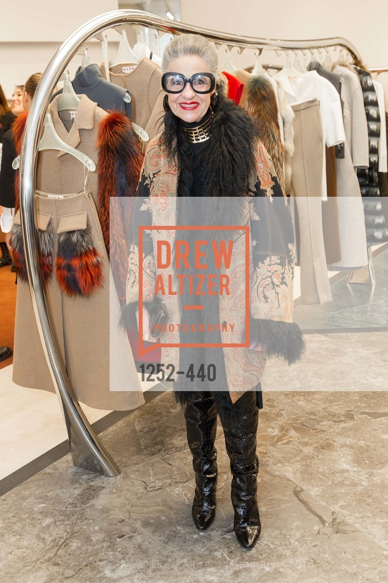Joy Bianchi, W Magazine and BAMPFA Celebrate the Opening of the Marni San Francisco Boutique with co-hosts Sabrina Buell and Alison Pincus, Marni San Francisco. 77 Maiden Lane, November 4th, 2015,Drew Altizer, Drew Altizer Photography, full-service agency, private events, San Francisco photographer, photographer california