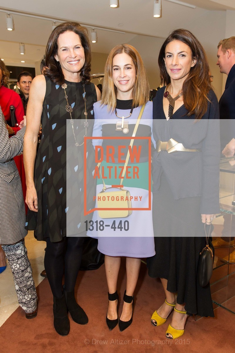 Randi Fisher, Allison Pincus, Sabrina Buell, W Magazine and BAMPFA Celebrate the Opening of the Marni San Francisco Boutique with co-hosts Sabrina Buell and Alison Pincus, Marni San Francisco. 77 Maiden Lane, November 4th, 2015,Drew Altizer, Drew Altizer Photography, full-service agency, private events, San Francisco photographer, photographer california