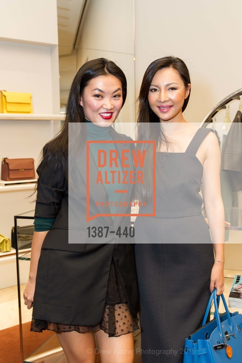 Ching Nola, Rokelle Sun, W Magazine and BAMPFA Celebrate the Opening of the Marni San Francisco Boutique with co-hosts Sabrina Buell and Alison Pincus, Marni San Francisco. 77 Maiden Lane, November 4th, 2015,Drew Altizer, Drew Altizer Photography, full-service agency, private events, San Francisco photographer, photographer california