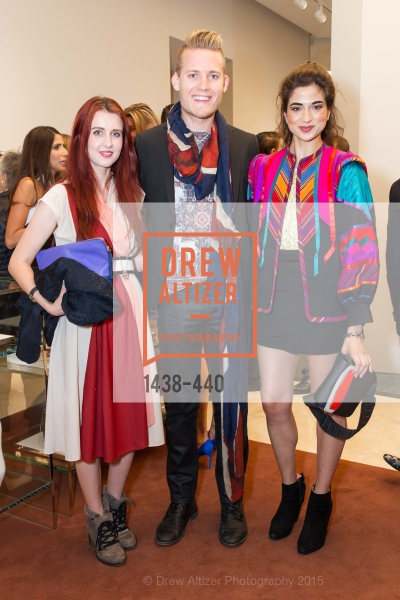 Asha Raval, Mark Olson, Juliana Stoy, W Magazine and BAMPFA Celebrate the Opening of the Marni San Francisco Boutique with co-hosts Sabrina Buell and Alison Pincus, Marni San Francisco. 77 Maiden Lane, November 4th, 2015,Drew Altizer, Drew Altizer Photography, full-service agency, private events, San Francisco photographer, photographer california