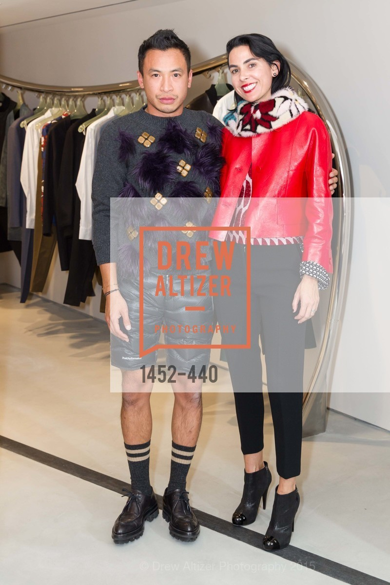 Tyson Lee, Maria Tores, W Magazine and BAMPFA Celebrate the Opening of the Marni San Francisco Boutique with co-hosts Sabrina Buell and Alison Pincus, Marni San Francisco. 77 Maiden Lane, November 4th, 2015,Drew Altizer, Drew Altizer Photography, full-service event agency, private events, San Francisco photographer, photographer California